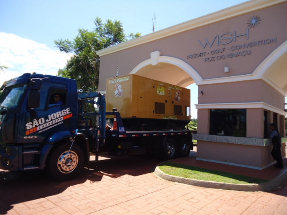 Gerador para o Natal do hotel Wish Resort Golf Convention em Foz do Iguaçu