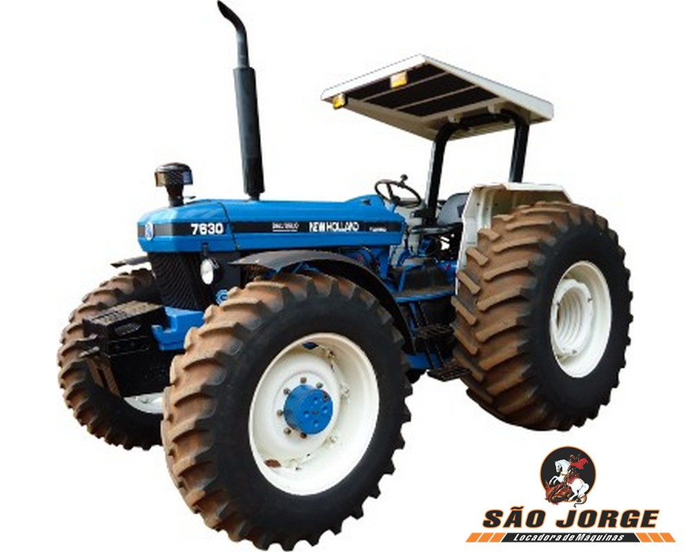 Trator 4x4 New Holland 7630